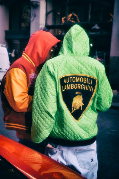 Supreme hits the road in its latest collaboration with Lamborghini