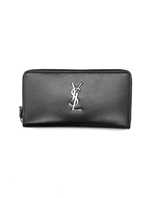 Yves Saint Laurent Monogram Wallet Card Holder