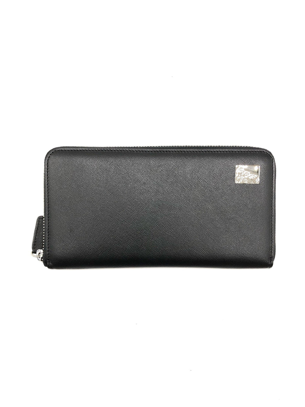 Versace Men Black Long Wallet