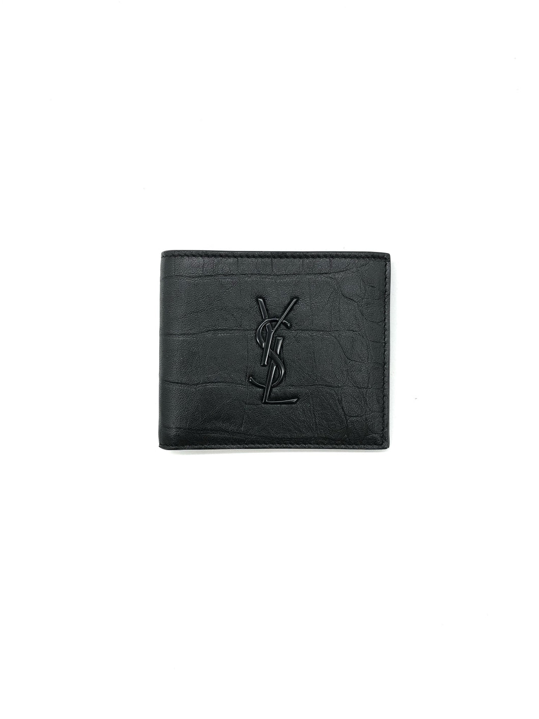 Yves Saint Laurent Monogram Billfold Wallet