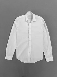 Kenzo White Embroidered Shirt
