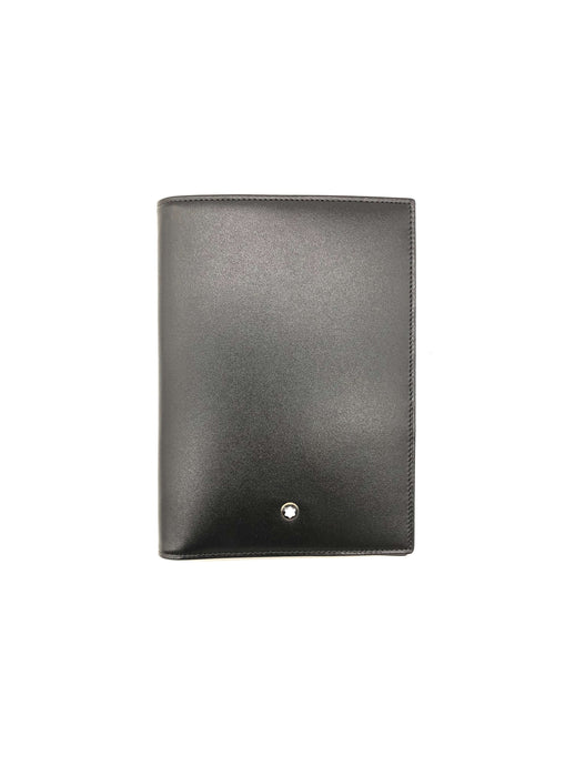 Mont Blanc Black Leather Meisterstuck Wallet 18CC