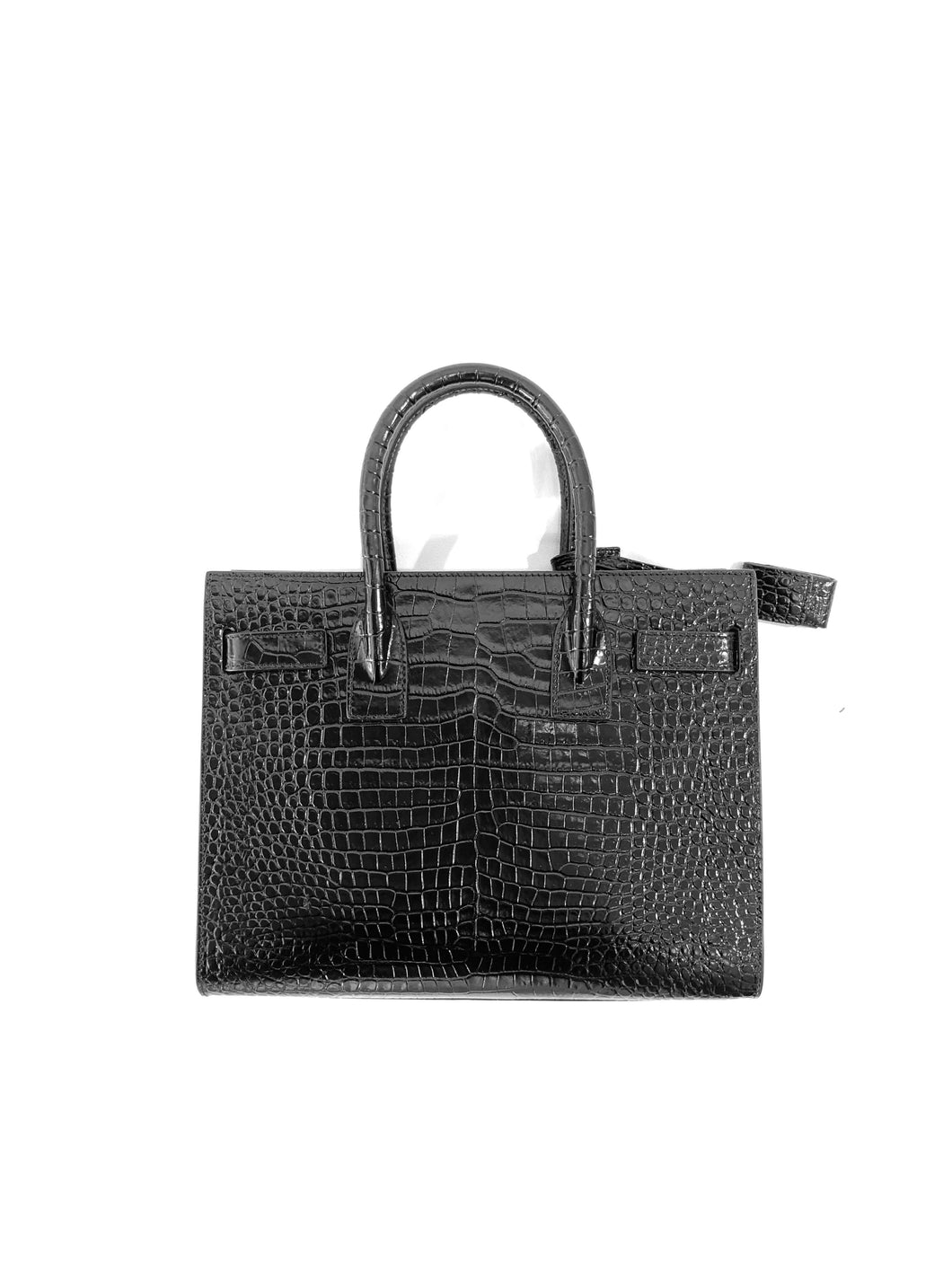 Yves Saint Laurent Small Sac de Jour Tote Black