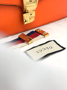 Gucci Orange Sylvie Shoulder Bag