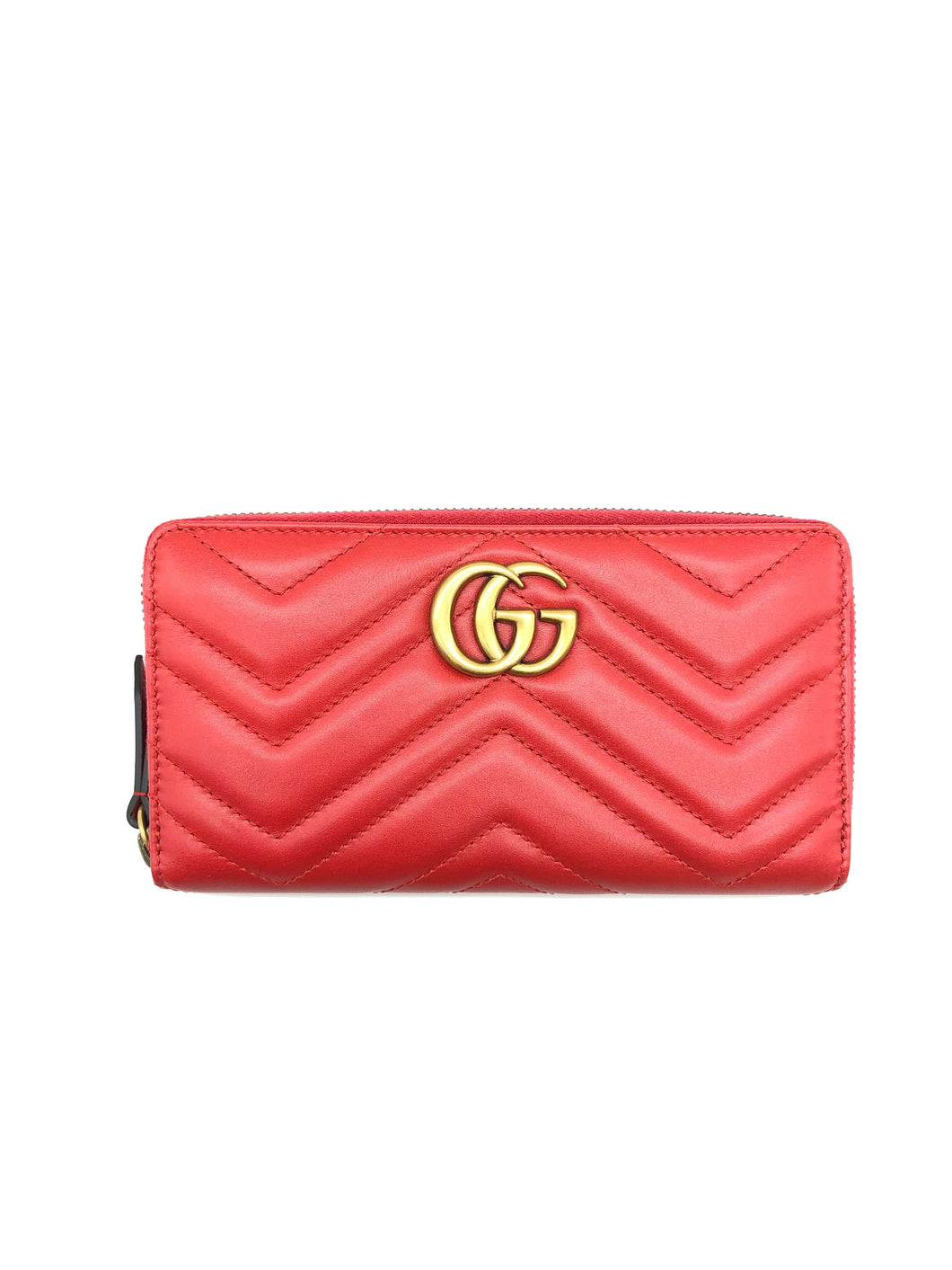 Gucci Red Marmont Wallet