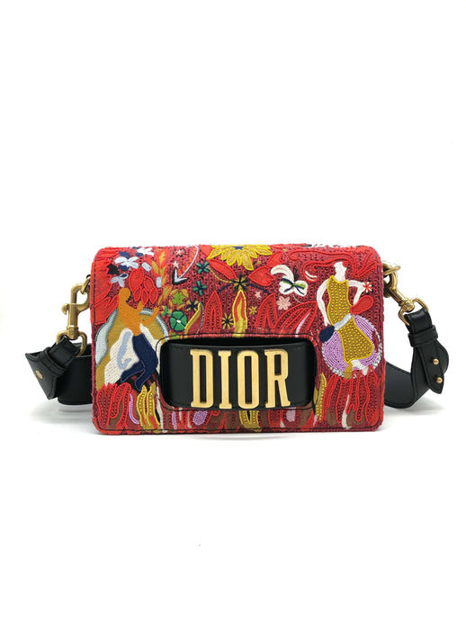 Diorevolution Medium Canvas Handbag