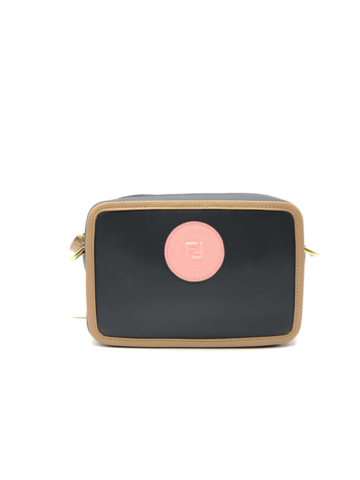 Fendi Pink Logo Camera Bag