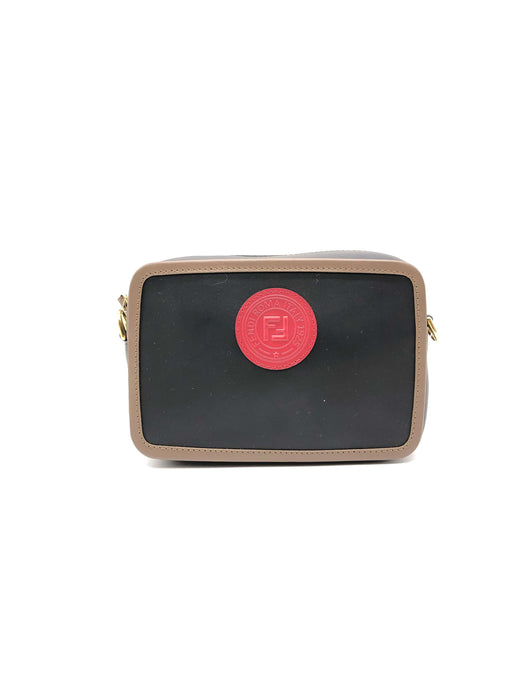 Fendi Red Logo Camera Bag
