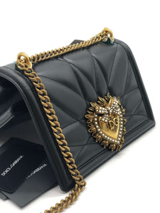 Dolce & Gabana Medium Devotion Crossbody Bag