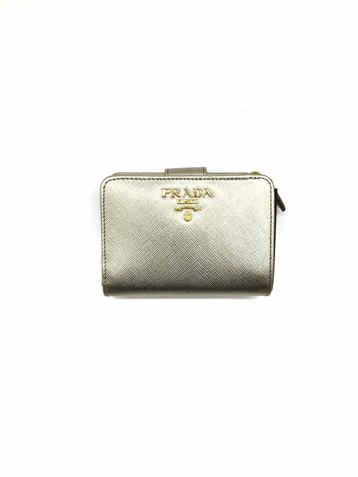Prada Leather Classic Wallet