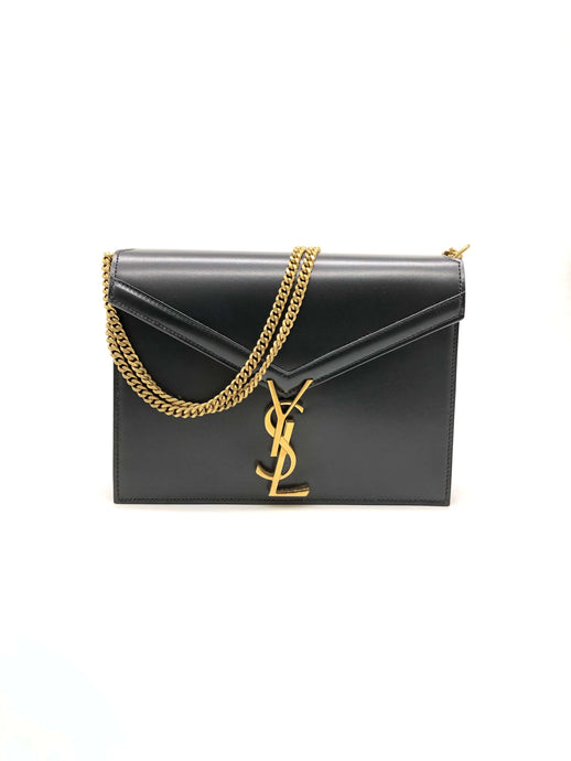 Yves Saint Laurent Cassandra Monogram Clasp Bag