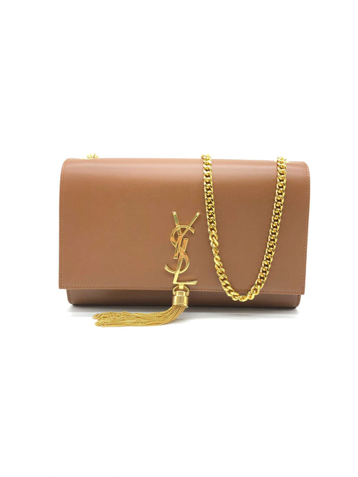 Yves Saint Laurent Brown Cassandra Shoulder Bag