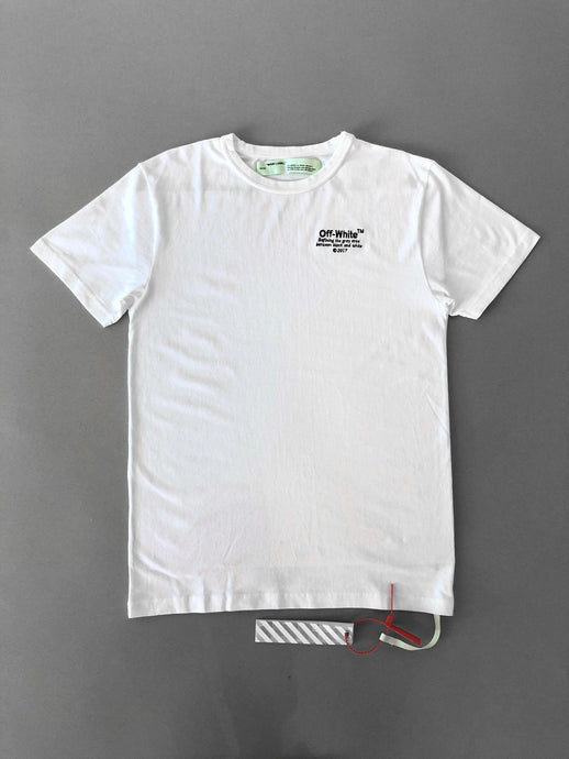 Off White SS White T-shirt SS18 Collection
