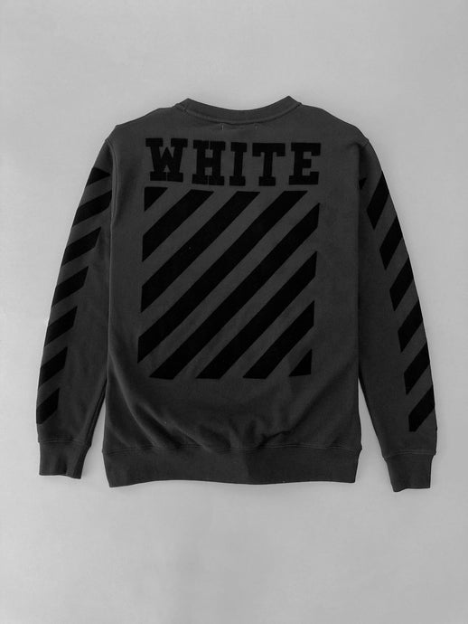 Off White Tone on Tone Crewneck SS18 Collection