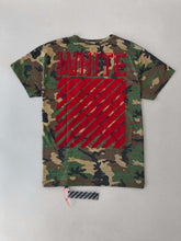 Load image into Gallery viewer, Off White Camouflage T-shirt SS18 Collection