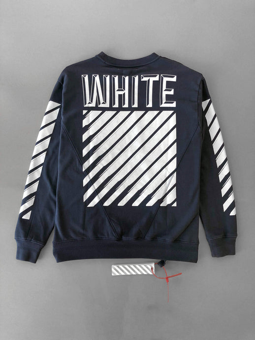 Off White 3D White Sweatshirt SS18 Collection