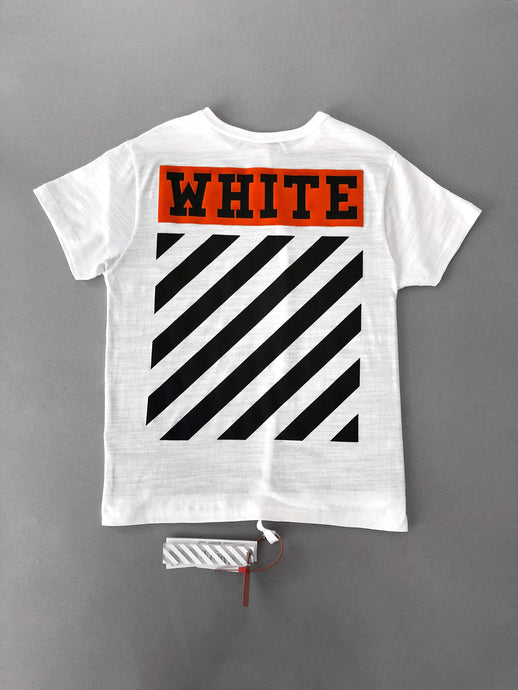 Off White Orange Box Black Logo Tee SS18 Collection