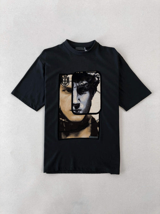 Prada Face Print Black T-shirt