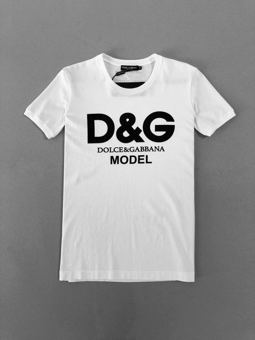 Dolce & Gabana White Cotton T-shirt