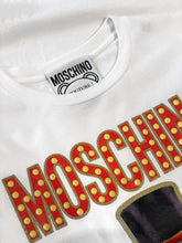 Load image into Gallery viewer, Moschino Teddy Printed White T-shirt