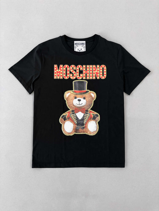 Moschino Teddy Printed Black T-shirt