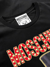Load image into Gallery viewer, Moschino Teddy Printed Black T-shirt