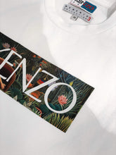 Load image into Gallery viewer, Kenzo Logo Stamped White T-shirt