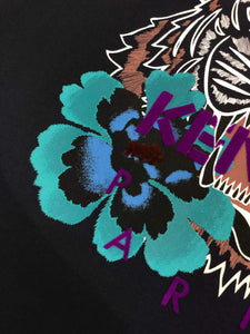 Kenzo 'Indonesian Flower' Tiger T-shirt