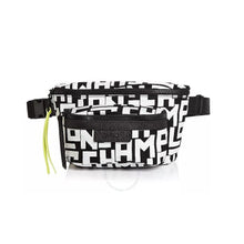 Load image into Gallery viewer, Longchamp Belt Bag Black/White Woman