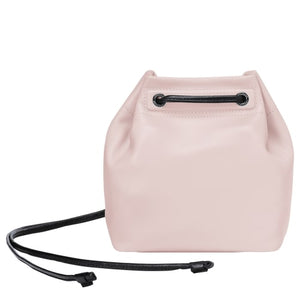 Longchamp Hand Bag Light Pink Woman