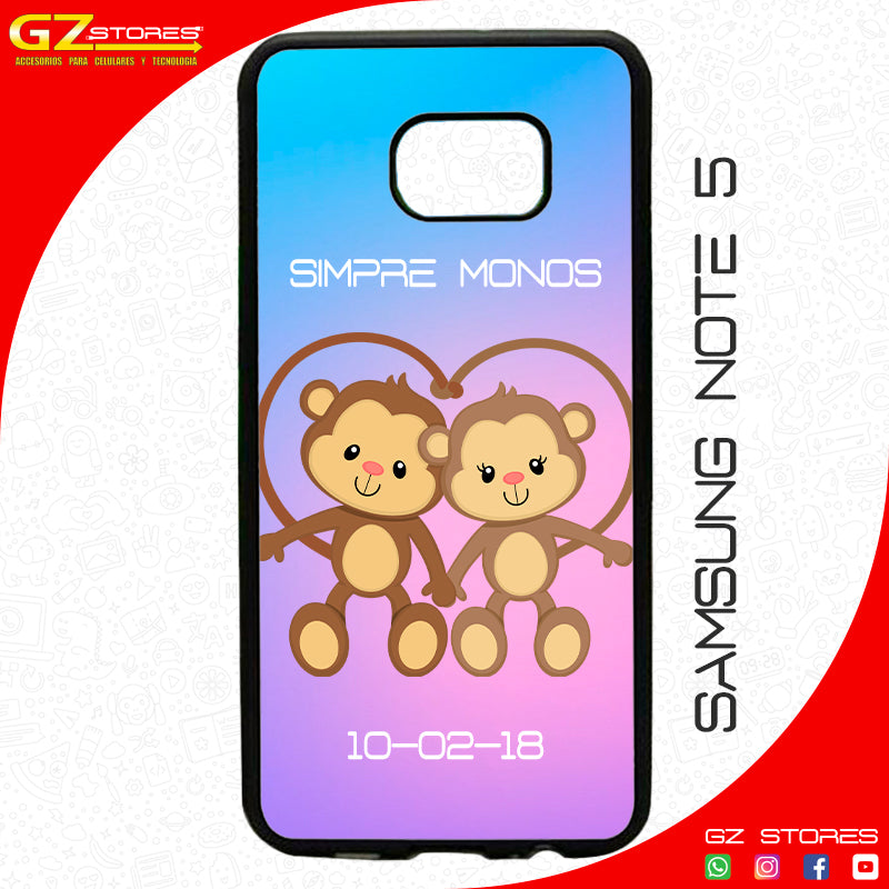 Funda SAM Note 5 Personalizada