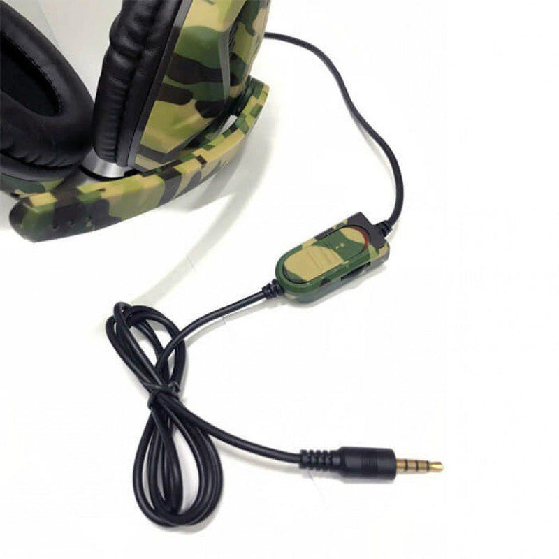 Auriculares de Camuflaje OIVO IV-X1012 para PS4/Xbox one/Xbox 360/Nintendo Switch/PC