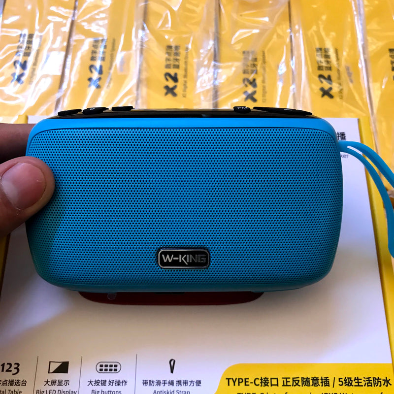 Parlante Bluetooth W-king X2