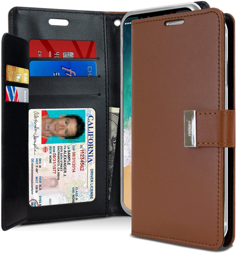 Funda IPhone 6 Plus Agenda Rich Diary Goospery
