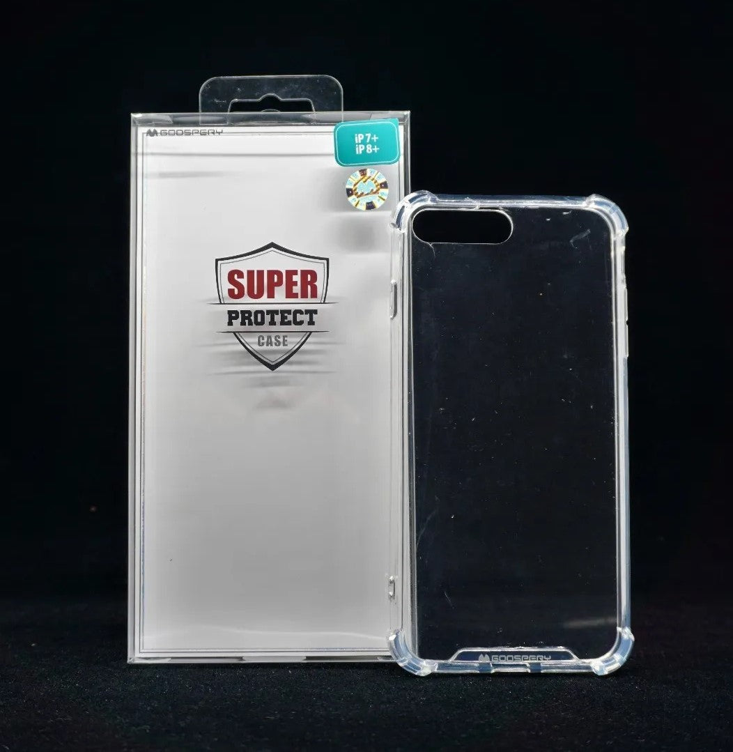 Funda IPH 7/8 Plus Super Protect Trasparente