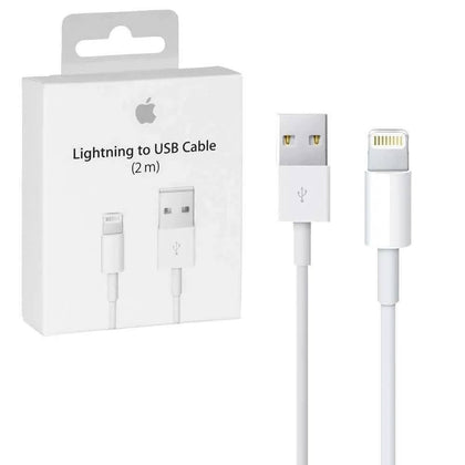 Combo #2 - iPhone Cable Lightening UBS 2mt + Cargador cabezal