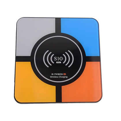 R-TV Box S10 Plus 4GB/32GB Carga Inalámbrica Android 8.1 - Android TV