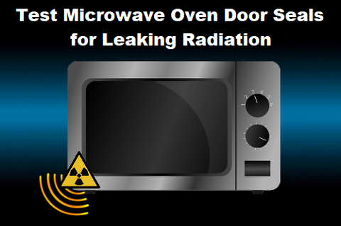 Test Microwave for Leaking Radiation