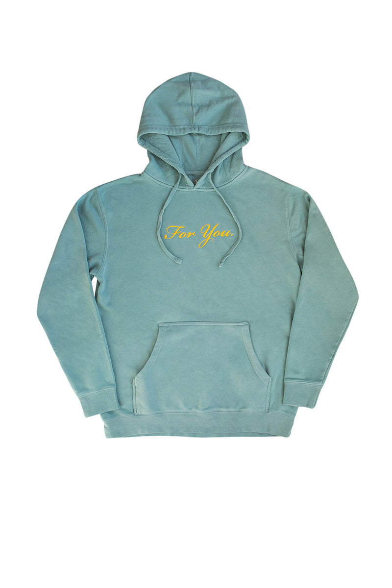 For You Mint Hoodie