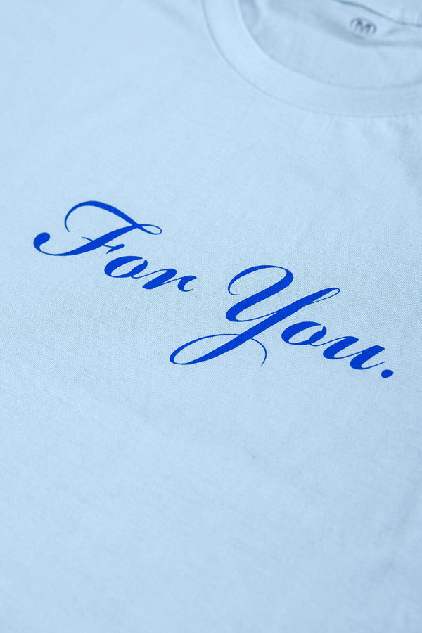 Youth For You Blue Shirt