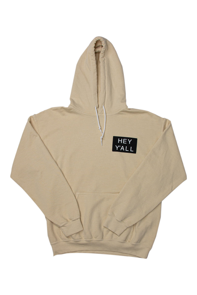 Hey Y'all Cream Hoodie