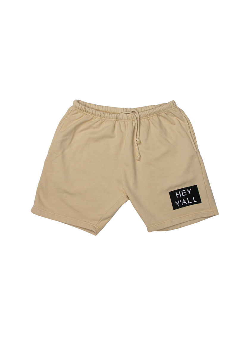 Hey Y'all Cream Shorts