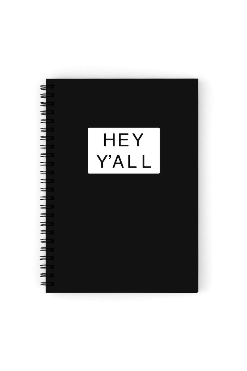 Addison Rae: Hey Y'all Black Notebook