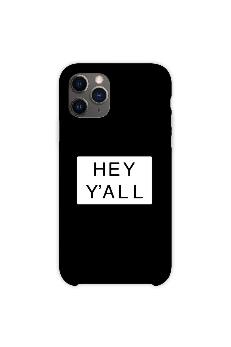 Addison Rae: Hey Y'all Black Phone Case
