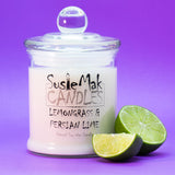 The natural fresh citrus scent of lemongrass combined with zesty lime, lemon peel with  just a hint of soft floral.