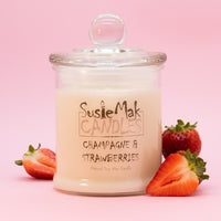 A combination of ripe strawberries and raspberries with notes of champagne, roses and a hint of vanilla bean and hyacinth
