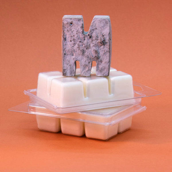 M is for Melts... Soy Wax cubes infused with the fragrance of your choice...