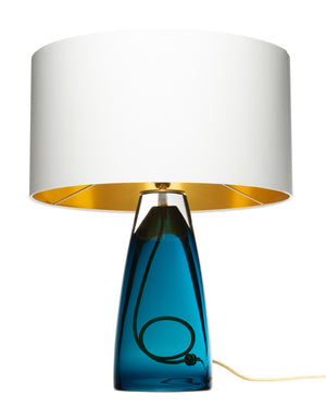 The Perfect Statement Table Lamp for Living Room, Office, or Bedside.