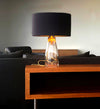 SERAFINA Lamp · Clear+Charcoal+Gold