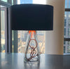 SERAFINA Lamp · Clear+Charcoal+Copper